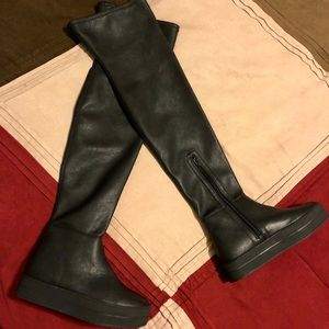 Shoes - Lust For Life Knee High Boots